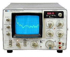HP/Agilent 3580A Spectrum Analyzer