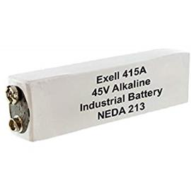 Exell Part Number- 415A Alkaline 45V Battery NEDA 213 for Barfield
