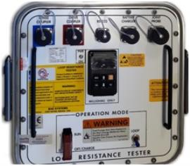 AE Systems Controls Part Number- 906-10247-3 Cable/Loop Resistance Testers