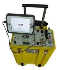 ATEQ Omicron Part Number- ADSE-745-2 RVSM Air Data Test Set, 2x Pt, 2x Ps, 2x AoA (smart probe)