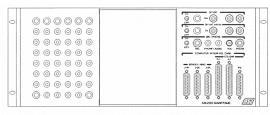 ASI (Avionics Specialists) Part Number- ASI-2000 Test Panels