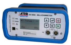 ATEQ Omicron AX 6000 Resistance / Bonding Meters