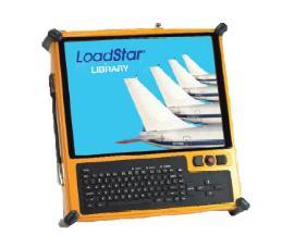 Teledyne Controls Part Number- P2K-GENX-01 Demo System PMAT 2000 Portable Maintenance Access Terminal/Data Loader, GEAE GENX FADEC DEVELOPMENT KIT