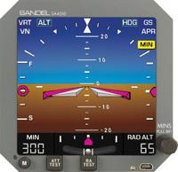 Sandel SA4550 101 Attitude Display