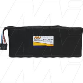 IFR / Aeroflex Part Number- TEB-7020-0012-500 IFR IFR-4000, IFR-6000, IFR-35XX Compatible Battery Pack