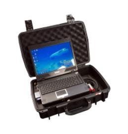 TechSat GmbH Part Number- WRA-615-R01 Flightline Wrangler Portable Software Maintenance Tool PSMT Advanced Portable Data Loader (APDL)