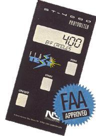 American Aerospace Part Number- ST-4000 Aircraft Strobe Light Intensity Tester
